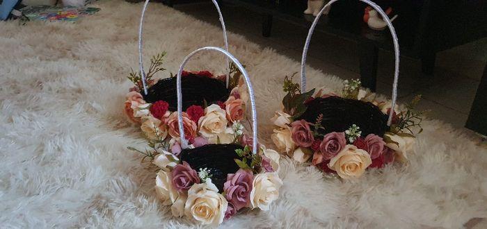 Cestinhas das floristas diy 🌸🎀👸🏼 2