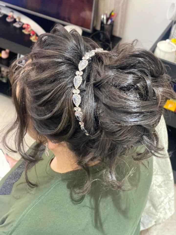 Teste de cabelo e maquiagem 🎀 - 4