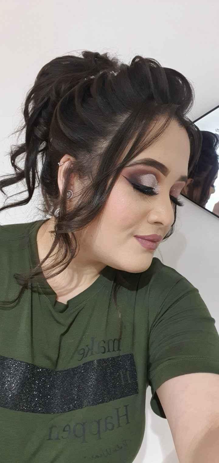 Teste de cabelo e maquiagem 🎀 - 6