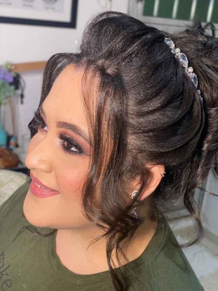 Teste de cabelo e maquiagem 🎀 - 8
