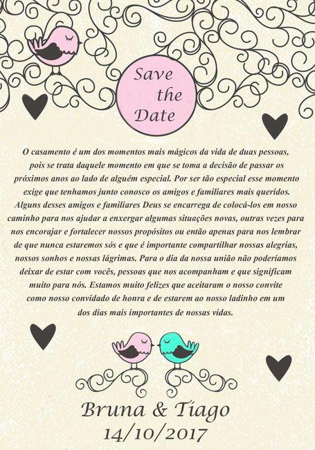 Planeta Casamento Por Thais Costa Convites Para Padrinhos