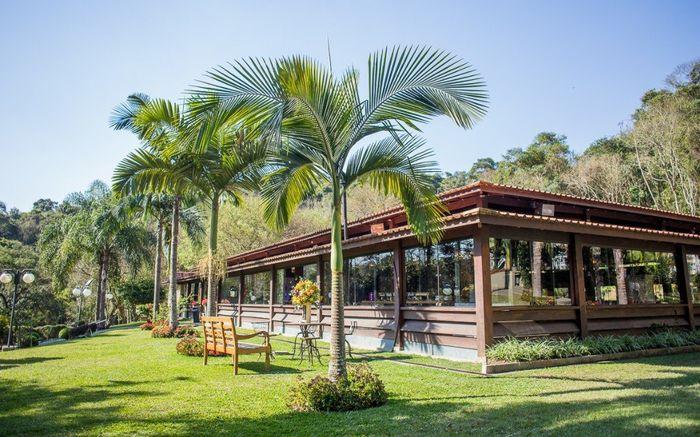 área externa do salão de festas