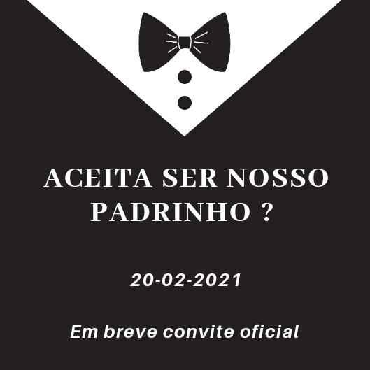 Save The Date Padrinhos - 1