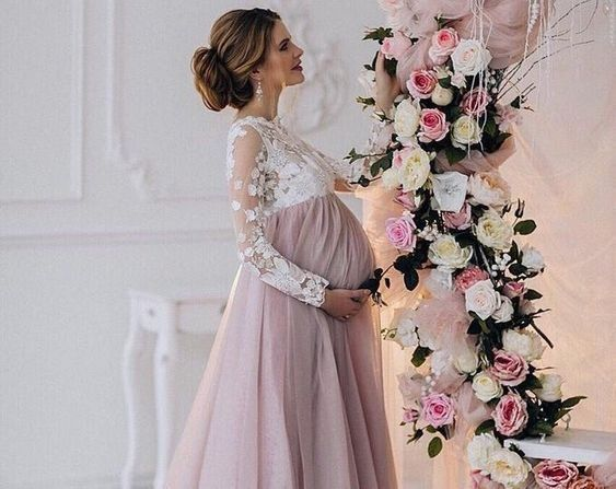Estou grávida e meu casamento é em abril. 2