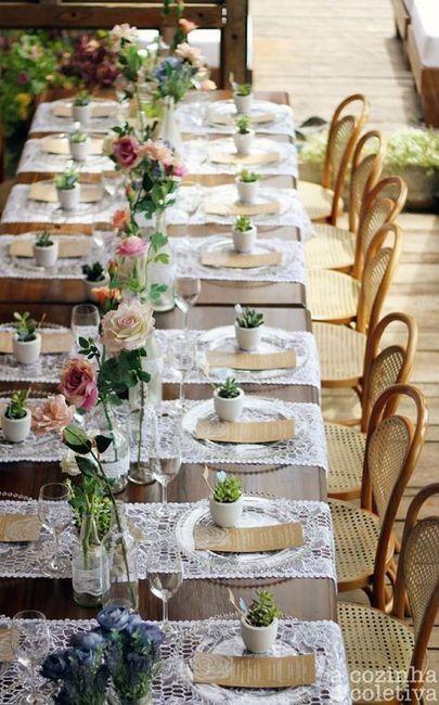 As Cores das Madrinhas  tem que ter relação com a decoração do casamento? 2