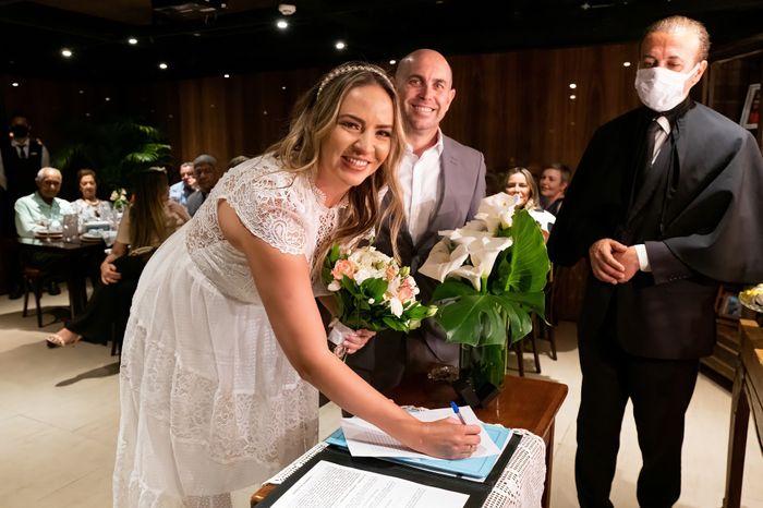 Casamento civil realizado com sucesso!!! - 2