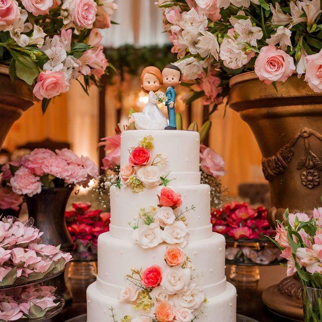 Bolo de Casamento Cor de Rosa: YES or MEH? 6