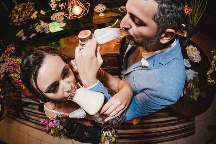 Brinde dos noivos - 1