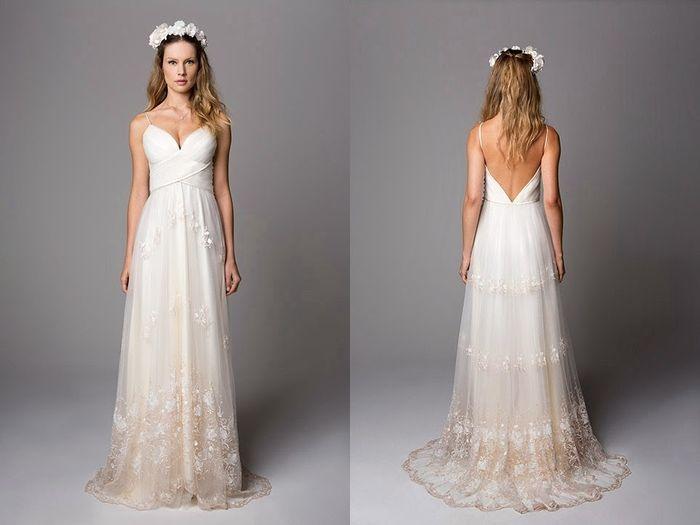 Vestido De Noiva Para O Campo