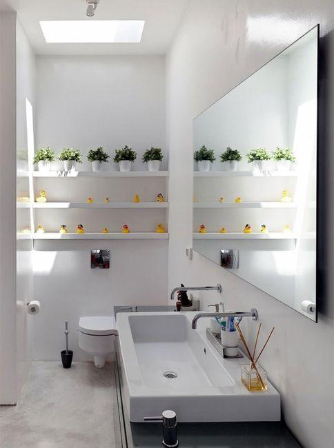Banheiro pequeno 2×2 (casa) -> Banheiro Hiper Pequeno