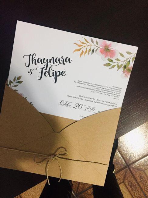 Meu convite de casamento 1