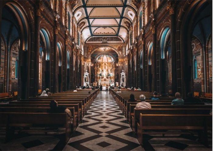 Decoração da igreja - 1