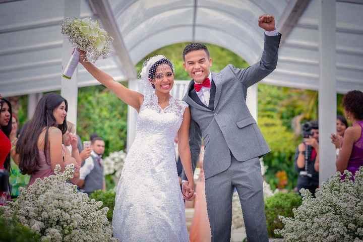 1 anooooooo de casados!!!!