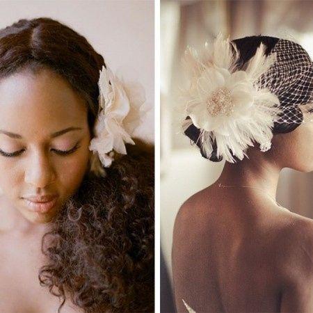 Peinados para novias morenas