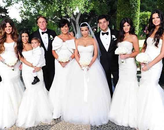 1 casamento Kim Kardashian