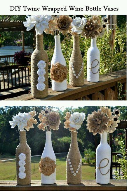 Inspiraç u00e3o decoraç u00e3o com garrafas e potes de vidro -> Decoracao Com Tampa De Vidro
