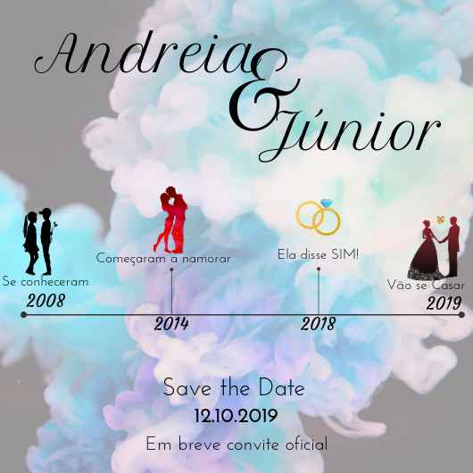 Save the Date #Andrei&Júnior