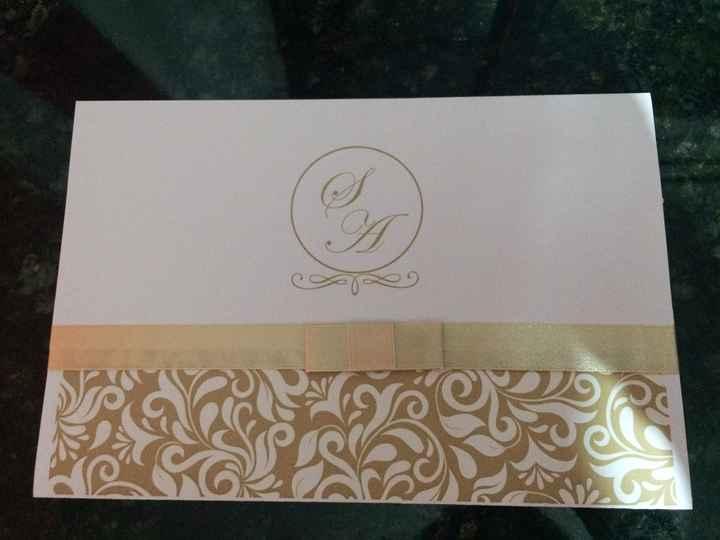 Meus convites chegaram!❤️ - 2