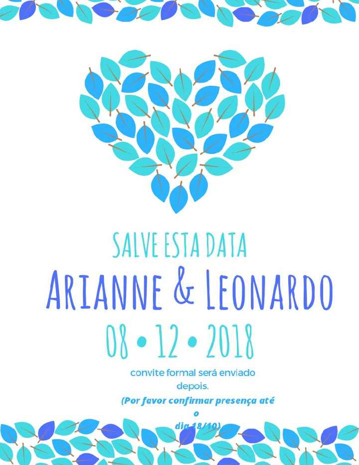 save the date - 1