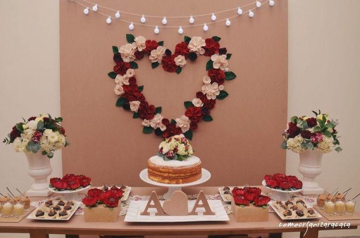 Casando sem grana > Noivado...#decoração 1