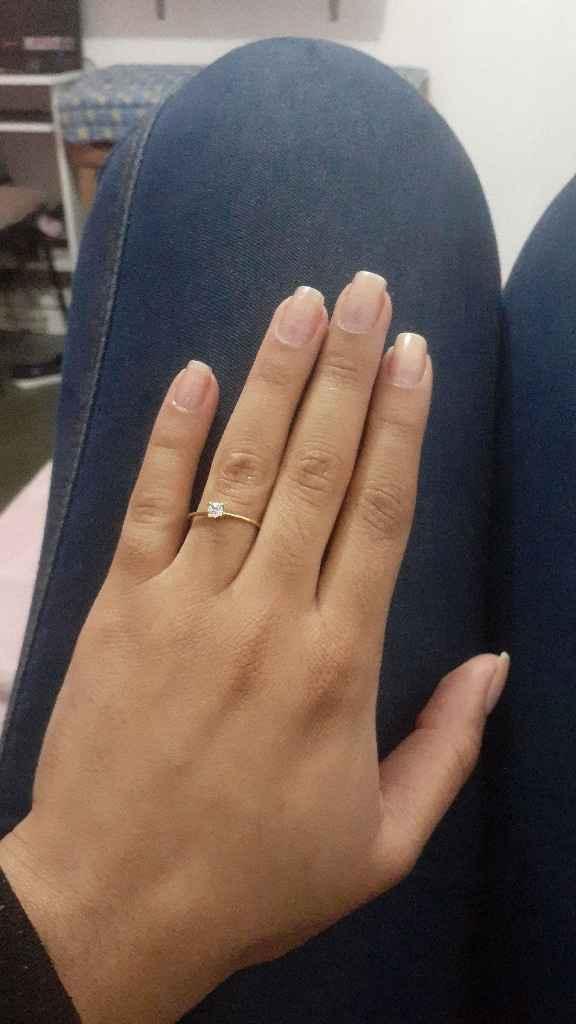 Fiquei noiva finalmente rs ❤💍 - 3