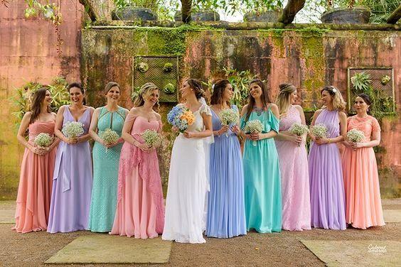 TEST : De quelle couleur sera la robe de vos demoiselles d'honneur ? 🌈 1