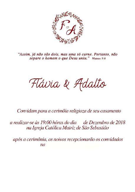 Convites! 1