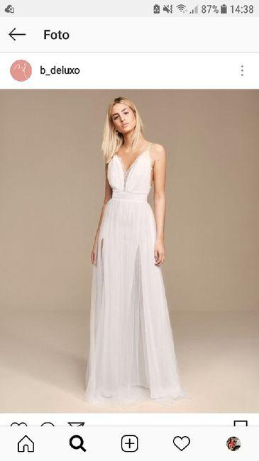 Vestido Pré Wedding Civil Noivado Online