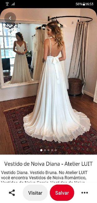 Vestido de noiva para casamento de manhã 6