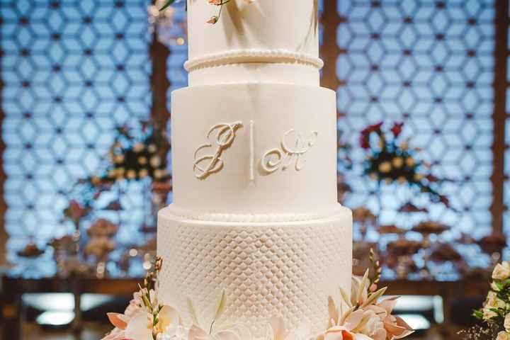Casamentos reais 2019: o bolo - 2