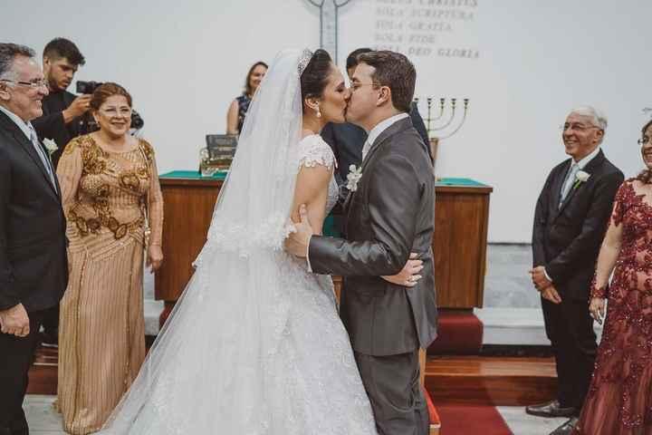 Casamentos reais 2019: o beijo no altar 11
