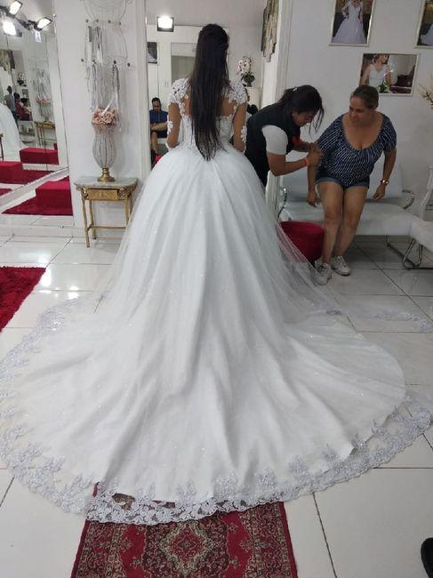 úLtimos ajustes do vestidooo - Faltam 14 diiasssss 2
