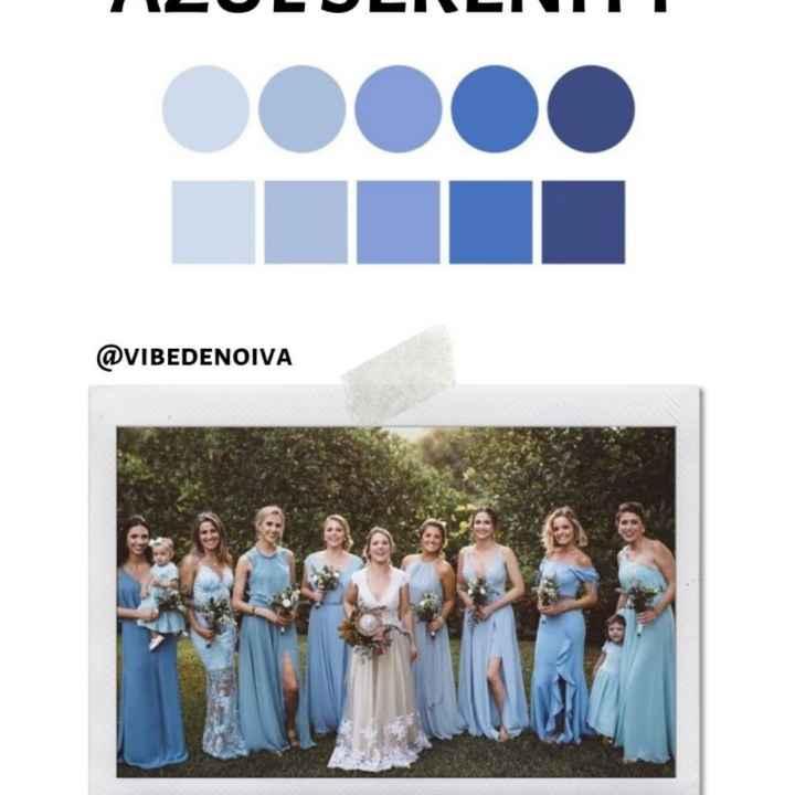Como definir a cor dos vestidos das madrinhas - 1
