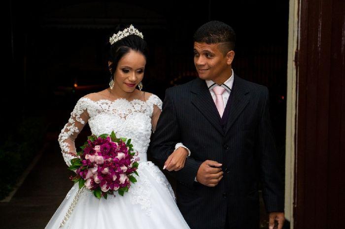 4 meses de casadinha, e agora venho com as minhas fotos oficiais!!! #vemver ❤ 1