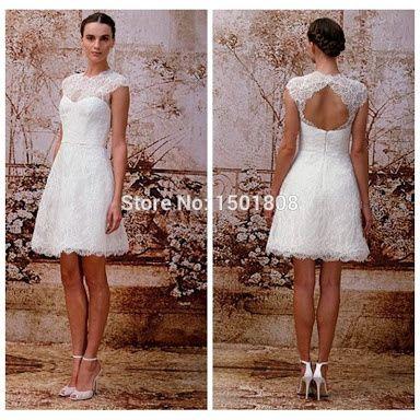 Vestido para casamento no civil de dia fotos