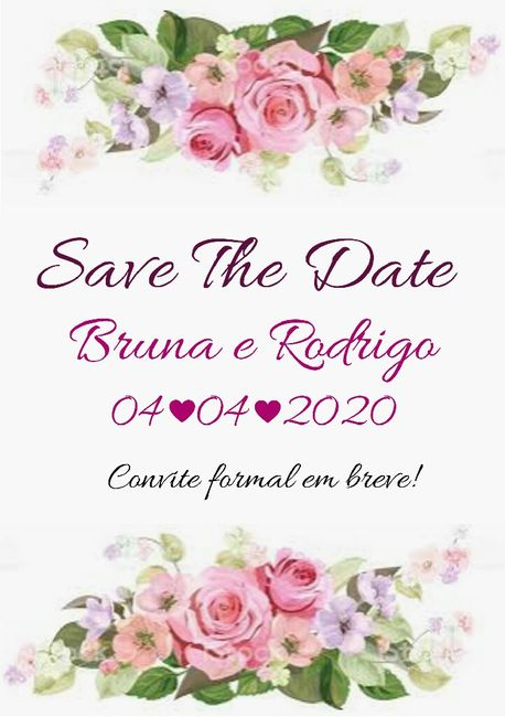Save the Date 🥰 1