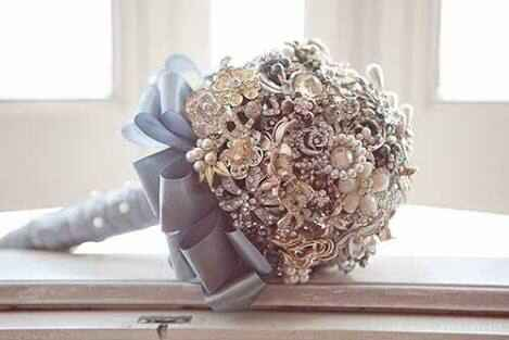 #noivamusa - Buquês de broches! - 2