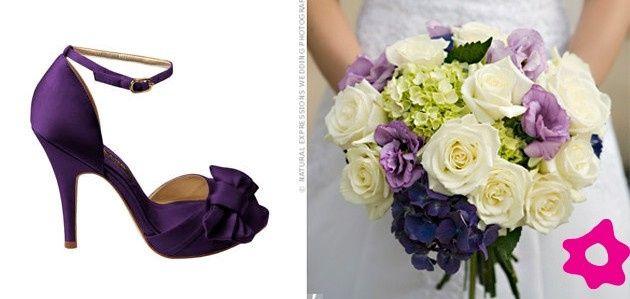 27ab3f04a2 Que tal  sapato de noiva colorido
