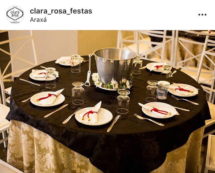 Centro de mesa convidados 💕 5