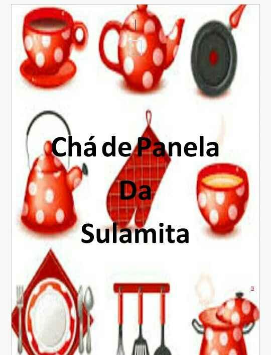 Chá de Cozinha - 1