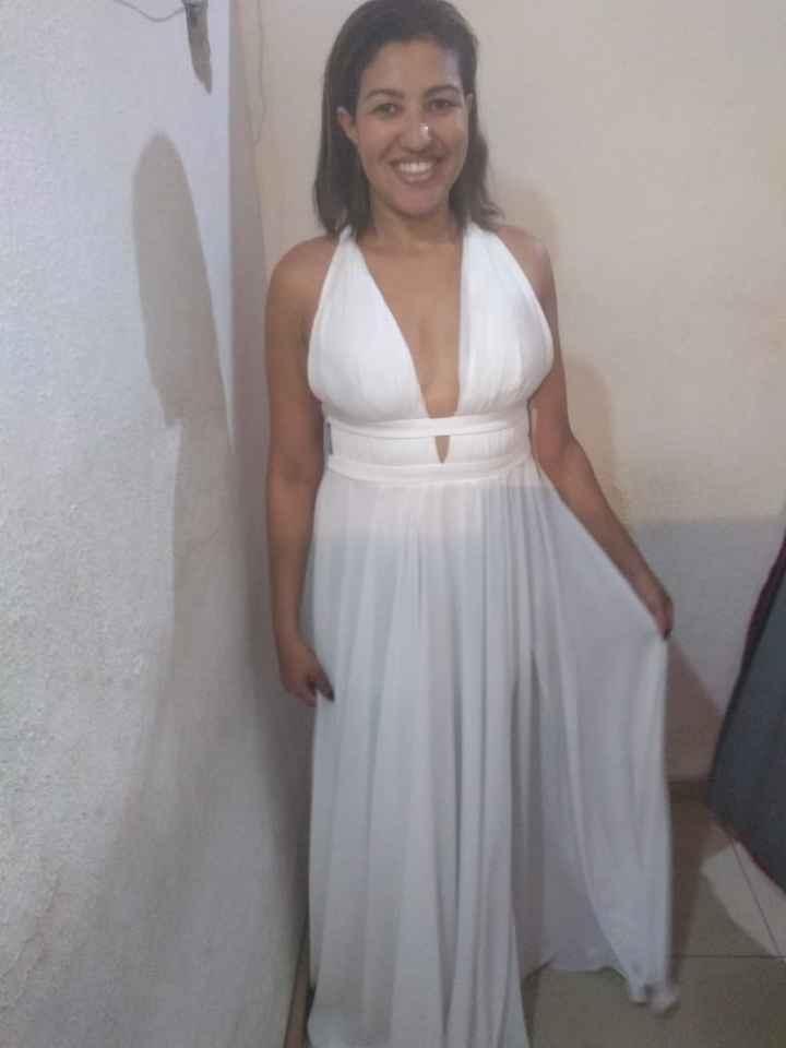 Vestido para alugar casamento dia.