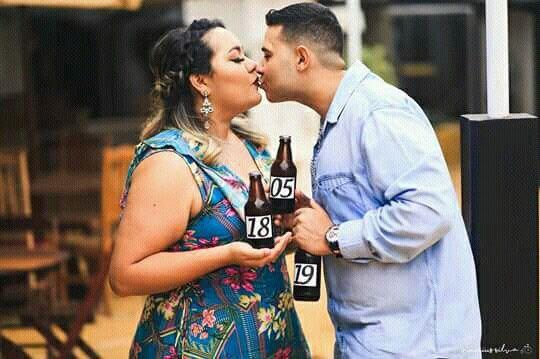 Pré-weddings na comu - Foto de beijo 14
