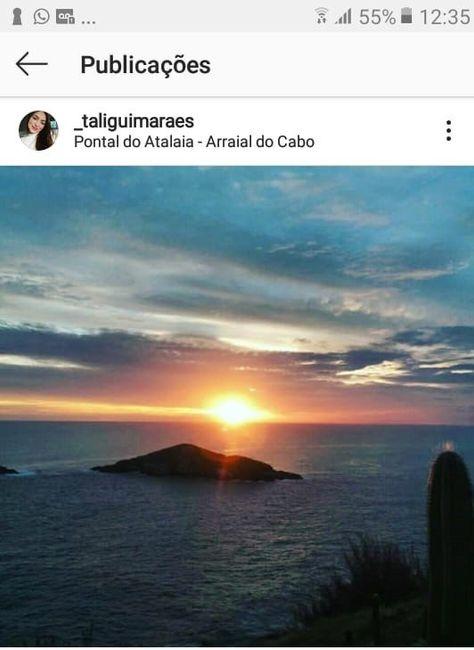 Pôr do sol no Mirante do Pontal do Atalaia, é realmente muito lindo
