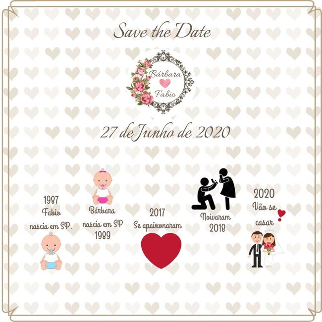 Save the date !! 1