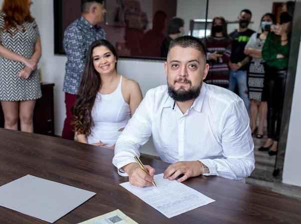 Casamento civil. - 1