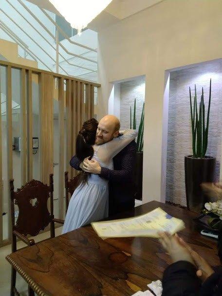 Casamento no civil! Detalhes 5