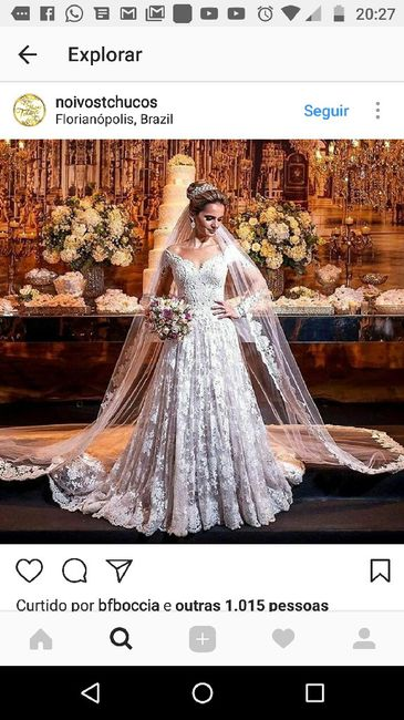 Você casaria com esse vestido? - 1