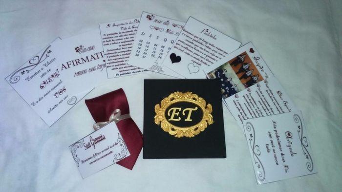 5bd6f8351f Diy- Convite das Madrinhas Diy- Convite dos padrinhos