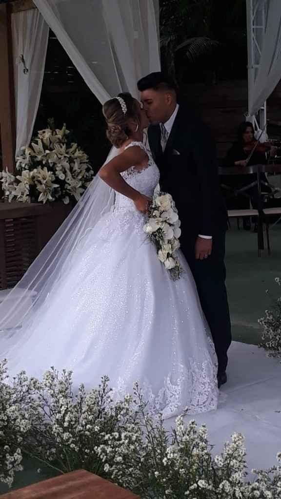 Casei dia 21/09 é foi tudo perfeito! ❤ - 1