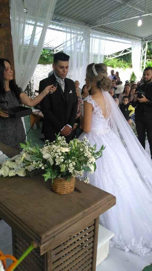Casei dia 21/09 é foi tudo perfeito! ❤ - 9